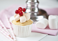 Cupcakes mit Marshmallow-Topping